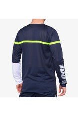 100% 100% - Men's R-CORE Jersey Dark Blue/Yellow - M