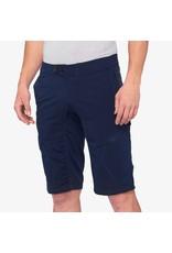 100% 100% - Men's RIDECAMP Shorts Navy - 36