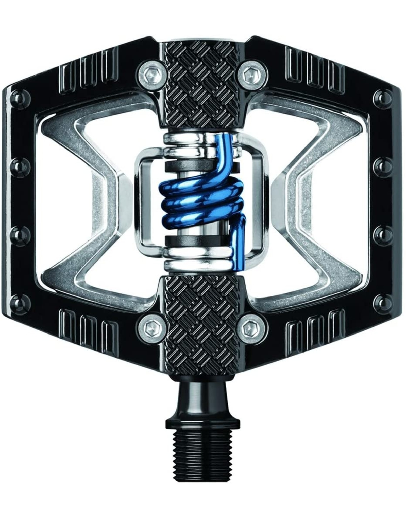 Crank Brothers CrankBros - Doubleshot 2 Black & Raw / Blue Spring