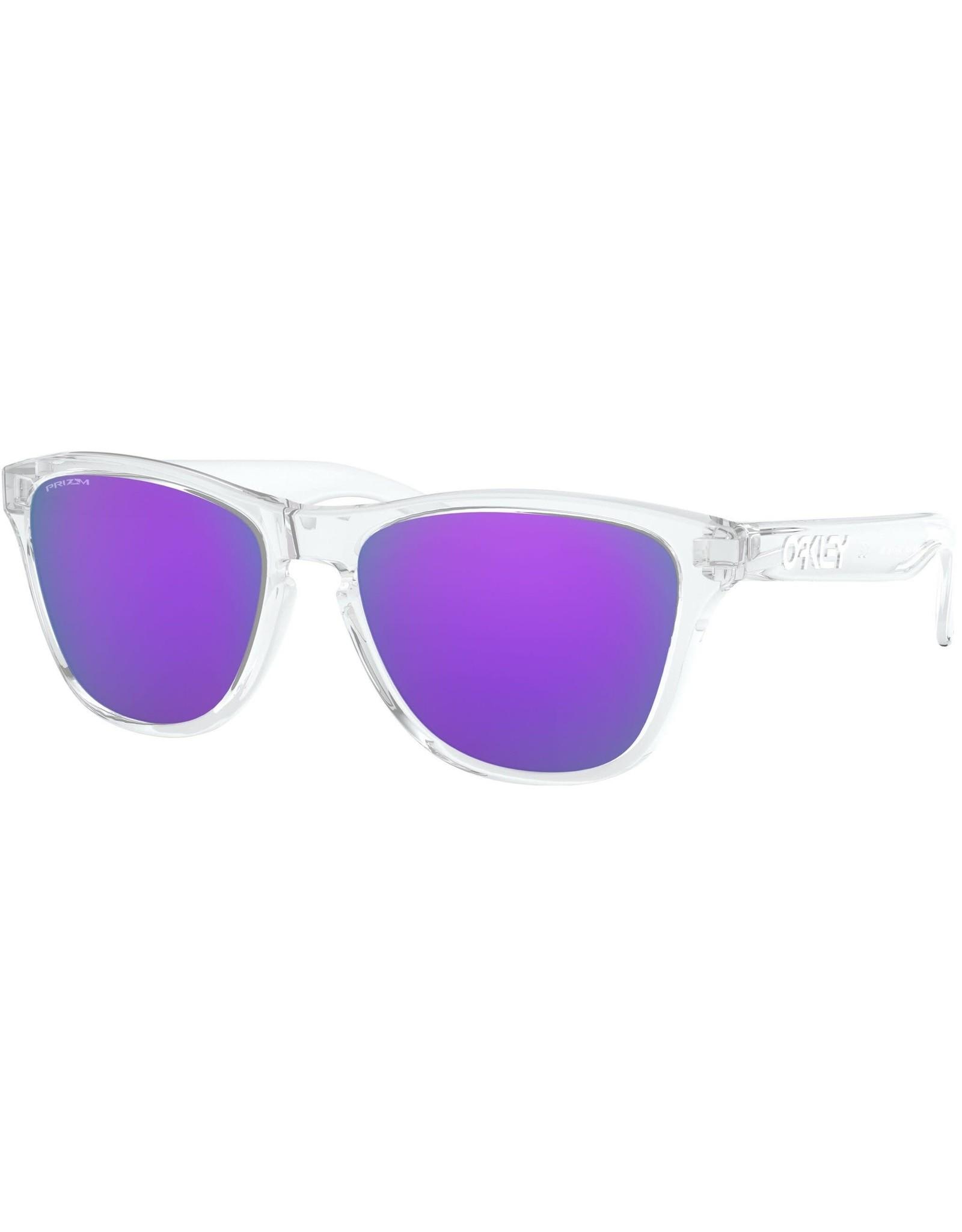 Oakley Oakley - Frogskins Pol Clear w/ PRIZM Violet