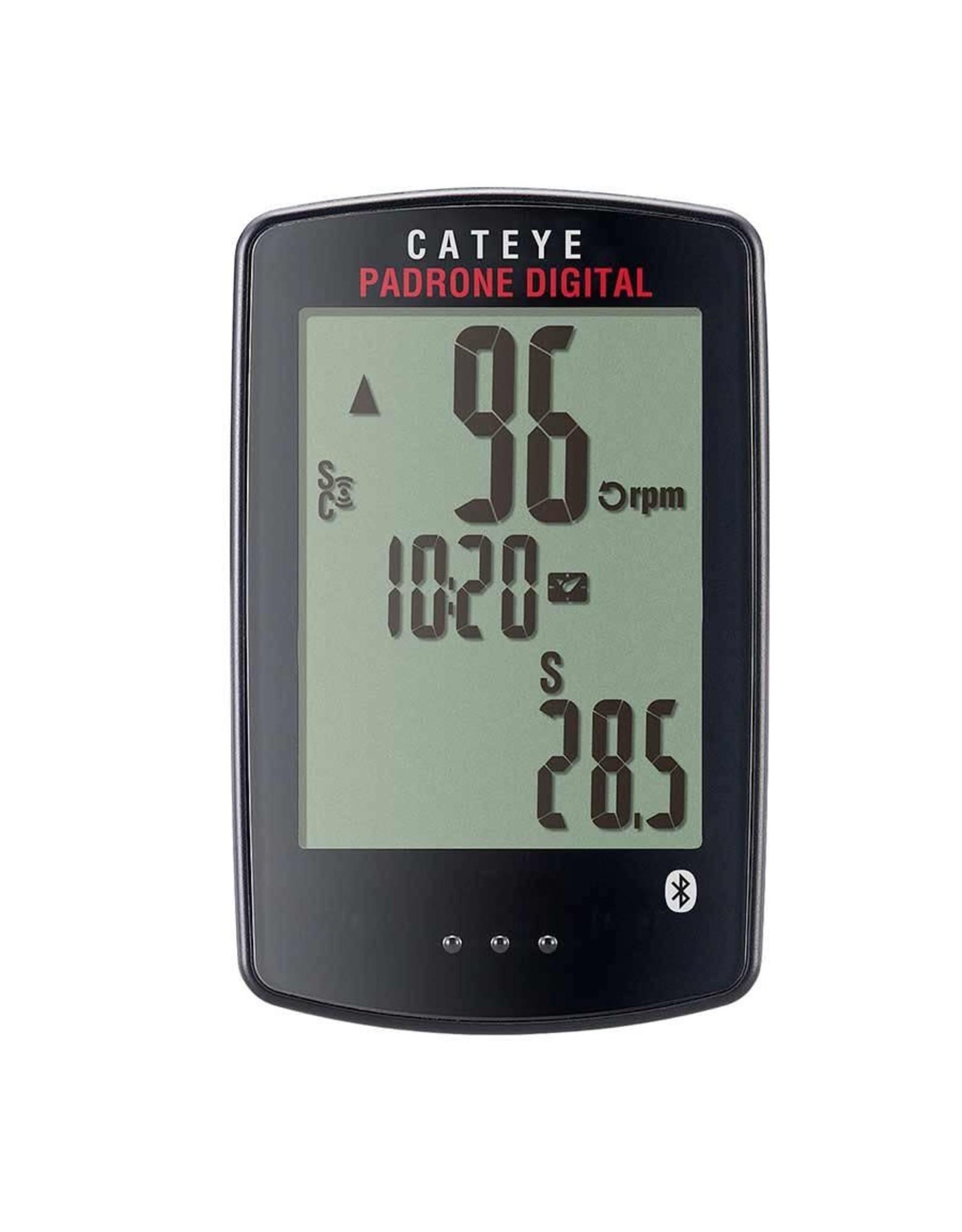 CatEye CatEye - Padrone Digital, Computer, GPS: No, HR: Optional, Cadence: Optional, Black