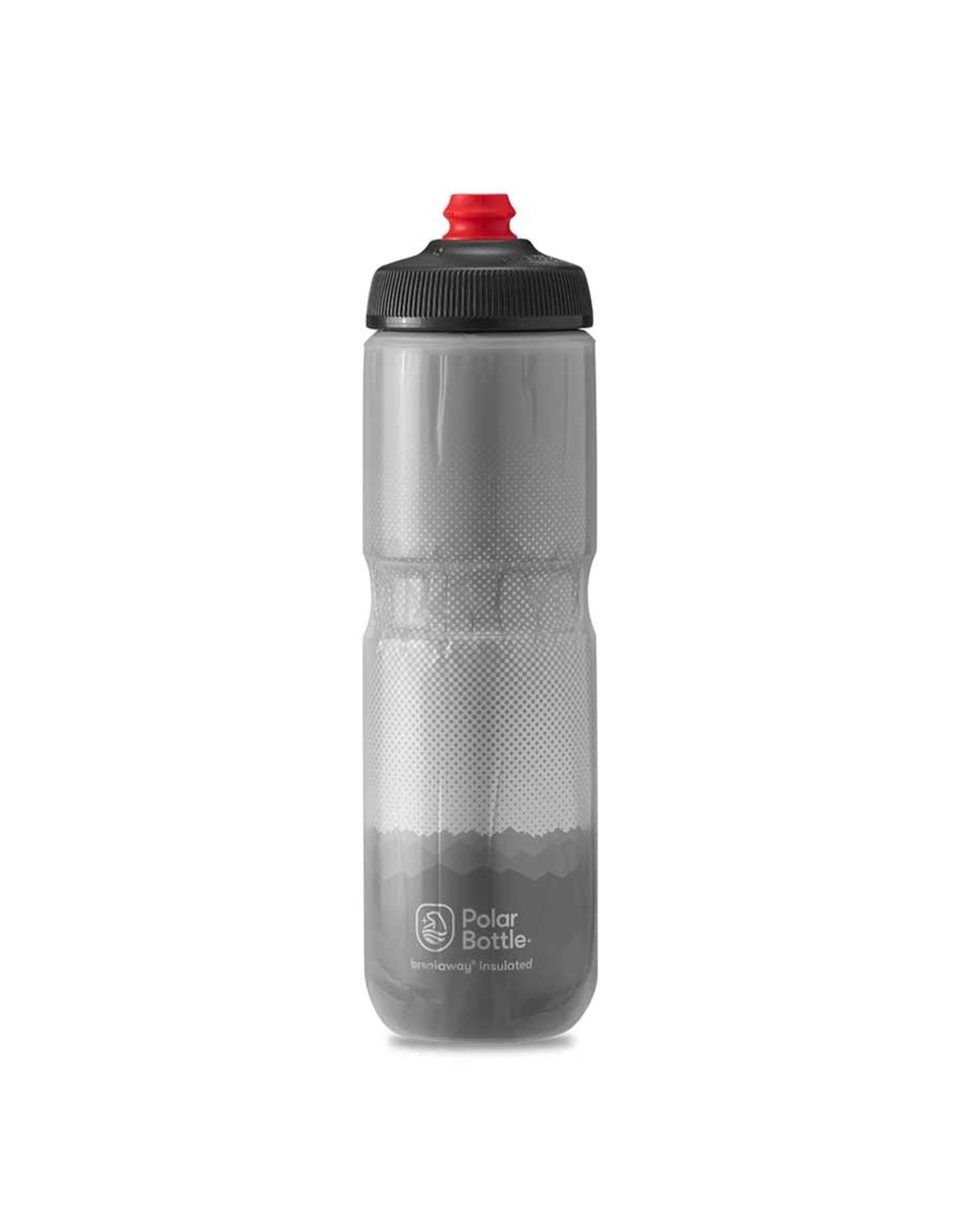 Polar Bottle Polar - Breakaway Insulated 24oz, Water Bottle, 710ml / 24oz, Charcoal/Silver