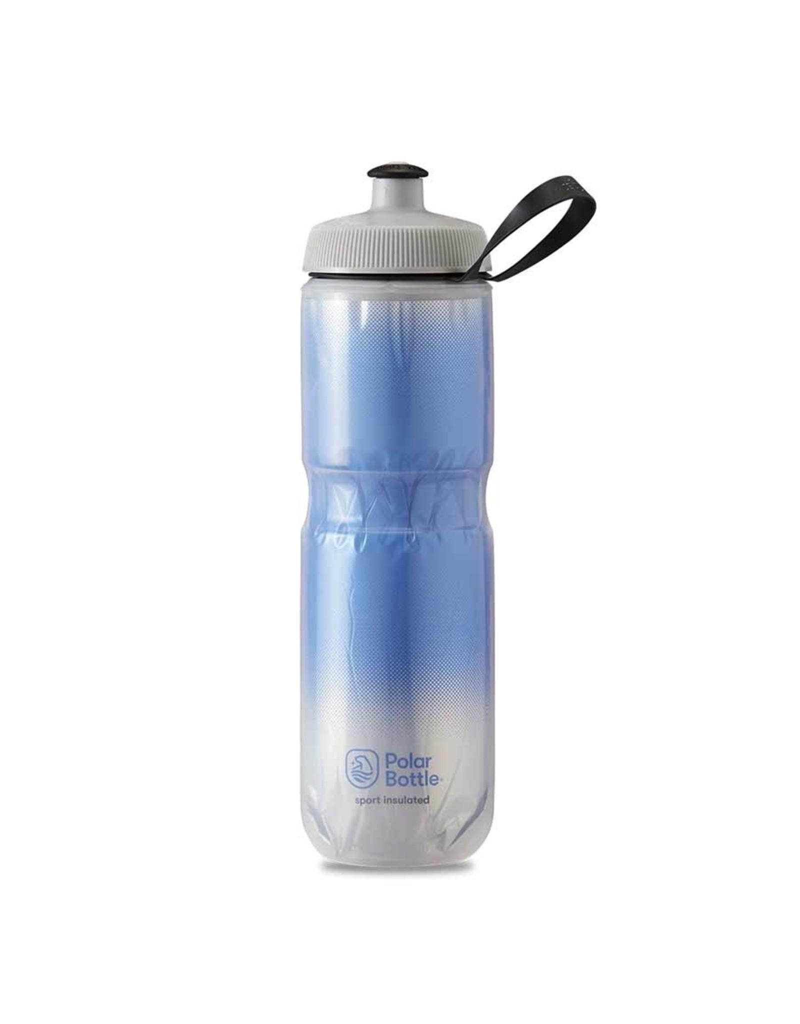 Polar Bottle Polar - Sport Insulated 24oz, Water Bottle, 710ml / 24oz, Royal Blue/Silver