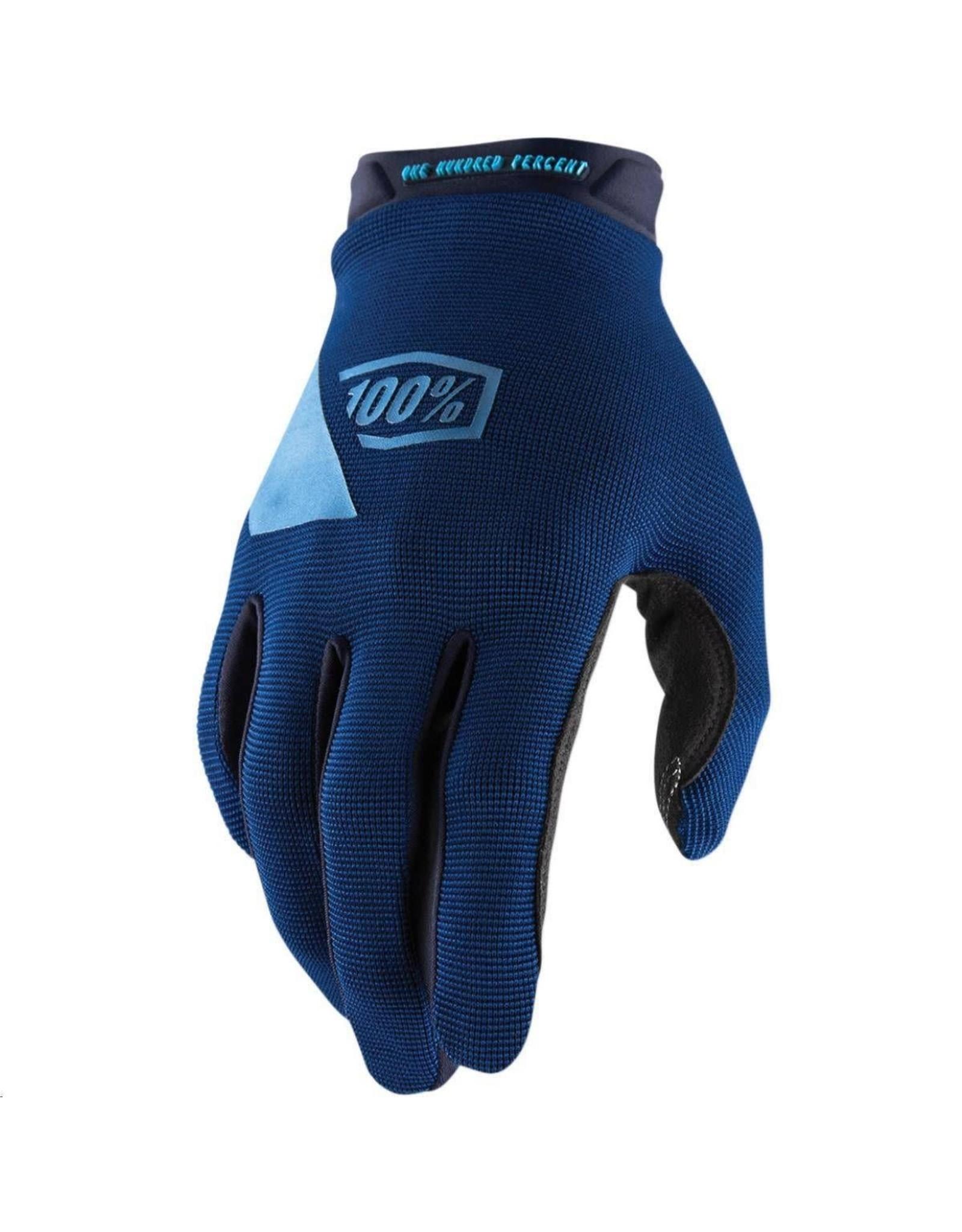 100% 100% - Gloves RIDECAMP Glove Navy - L