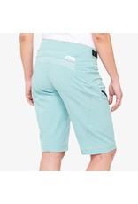 100% 100% - AIRMATIC Women's Shorts Seafoam - L