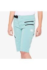 100% 100% - AIRMATIC Women's Shorts Seafoam - M