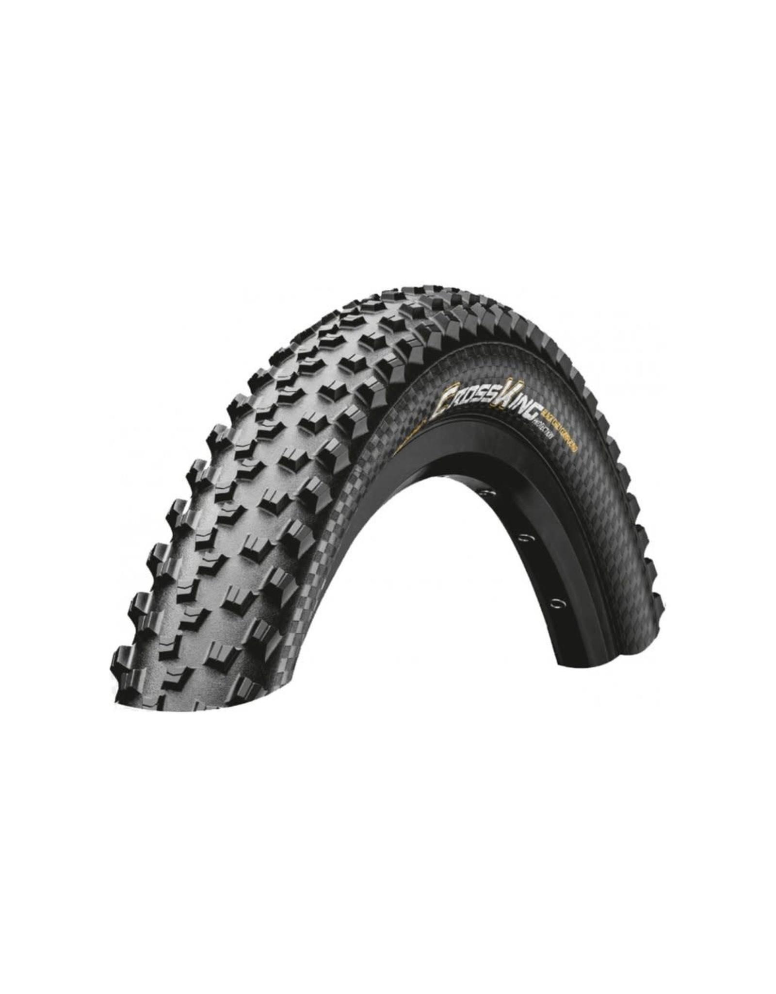 Continental Continental - XC/Enduro Tires Cross King 27.5 x 2.6 ShieldWall Folding TR + Puregrip