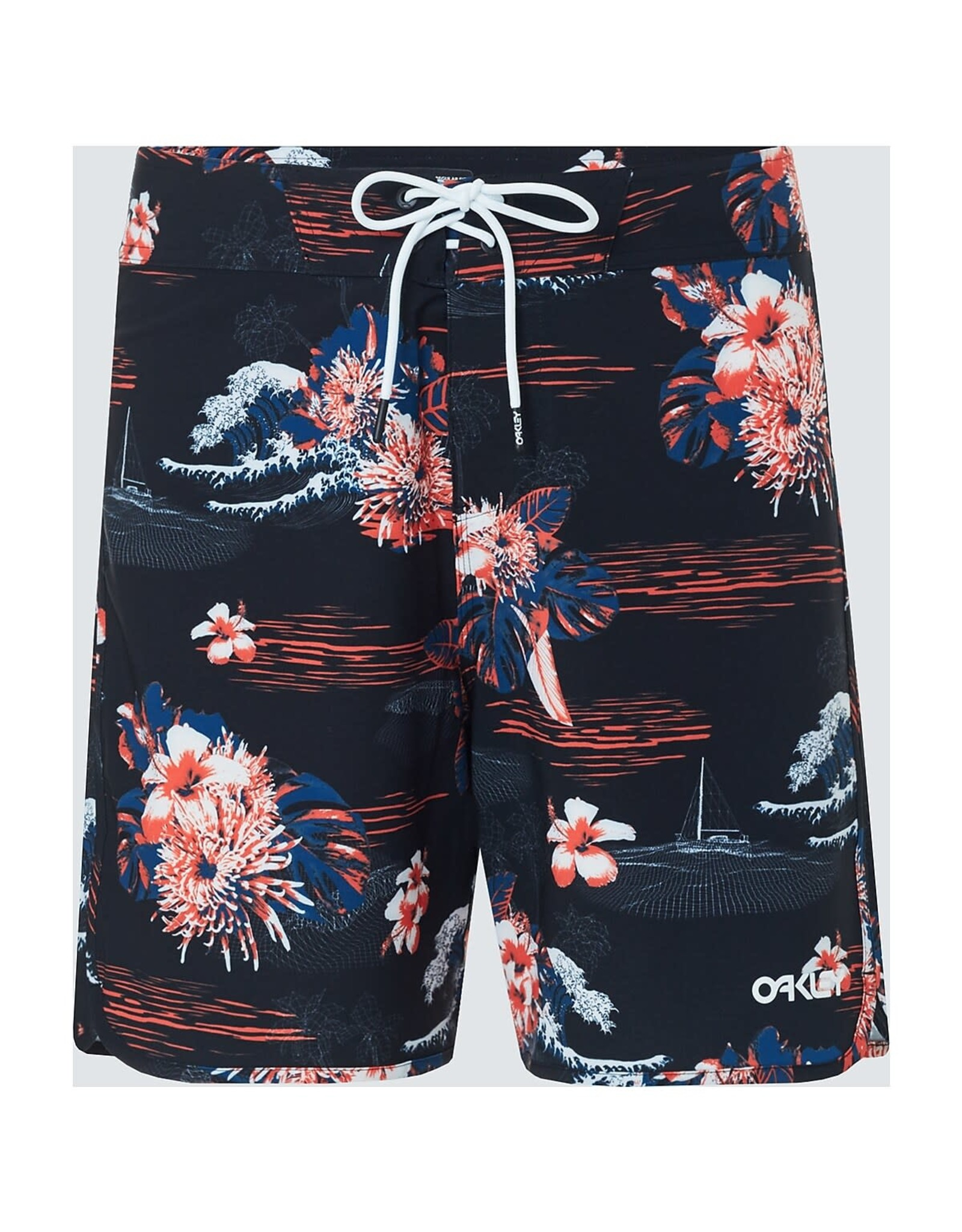 Oakley Oakley - Tropical Bloom Boardshort Black Hawai 33