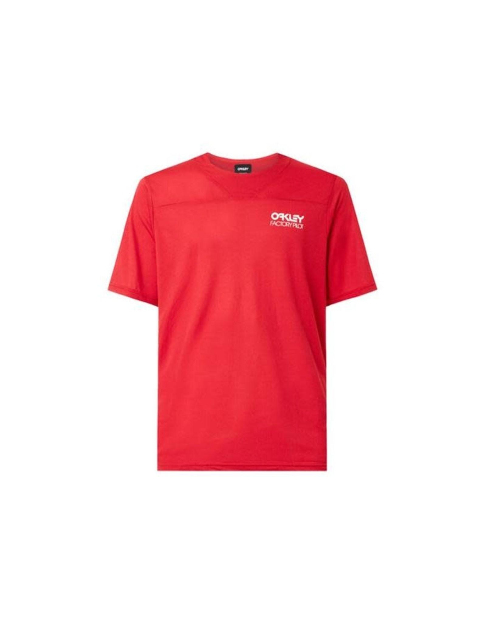 Oakley Oakley - CASCADE TRAIL TEE Red Line M