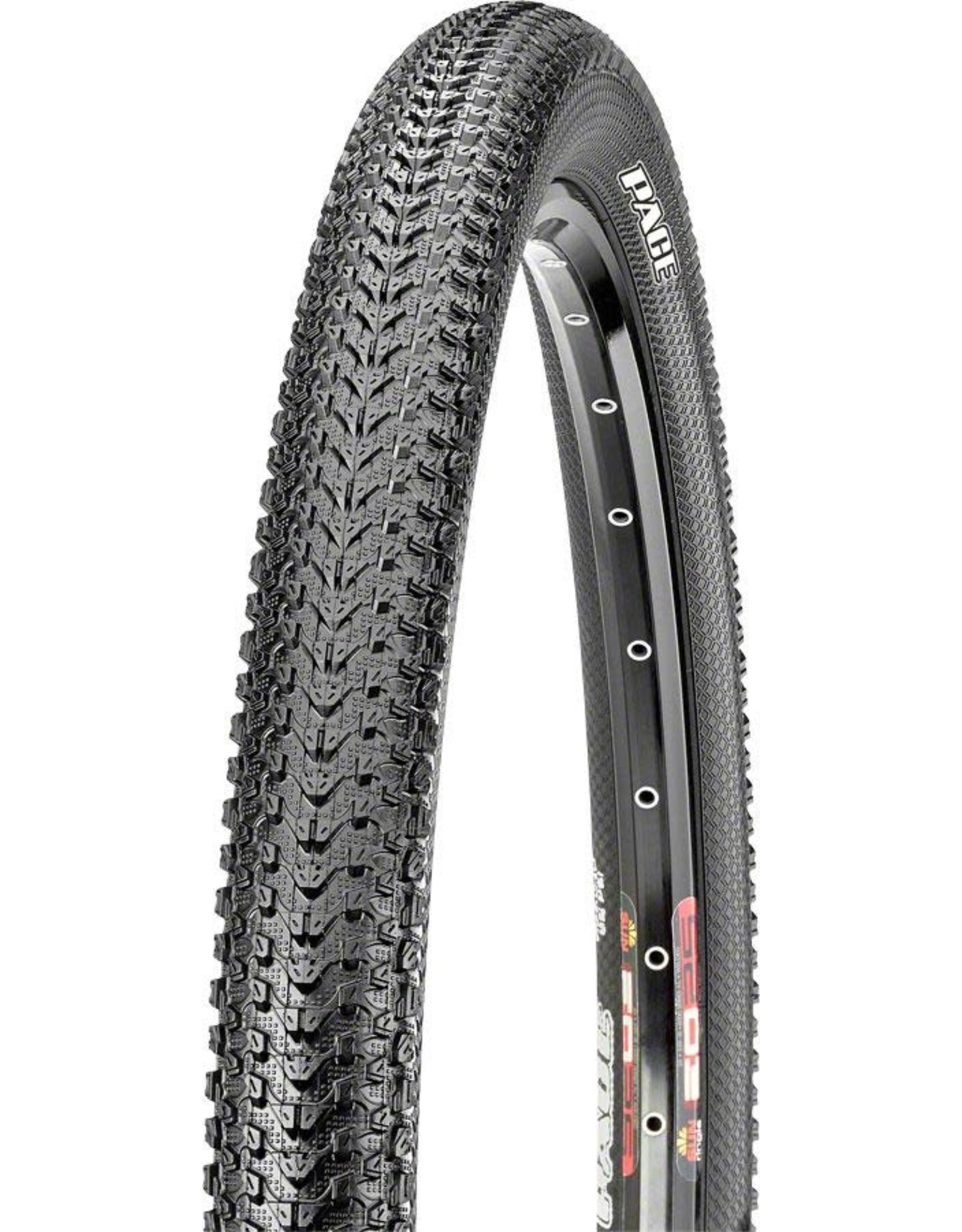 Maxxis Maxxis - Pace Tire - 29 x 2.10, Tubeless, Folding, Black, Dual, EXO