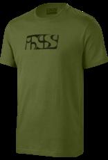 IXS IXS - BRAND TEE OLIVE MENS XL