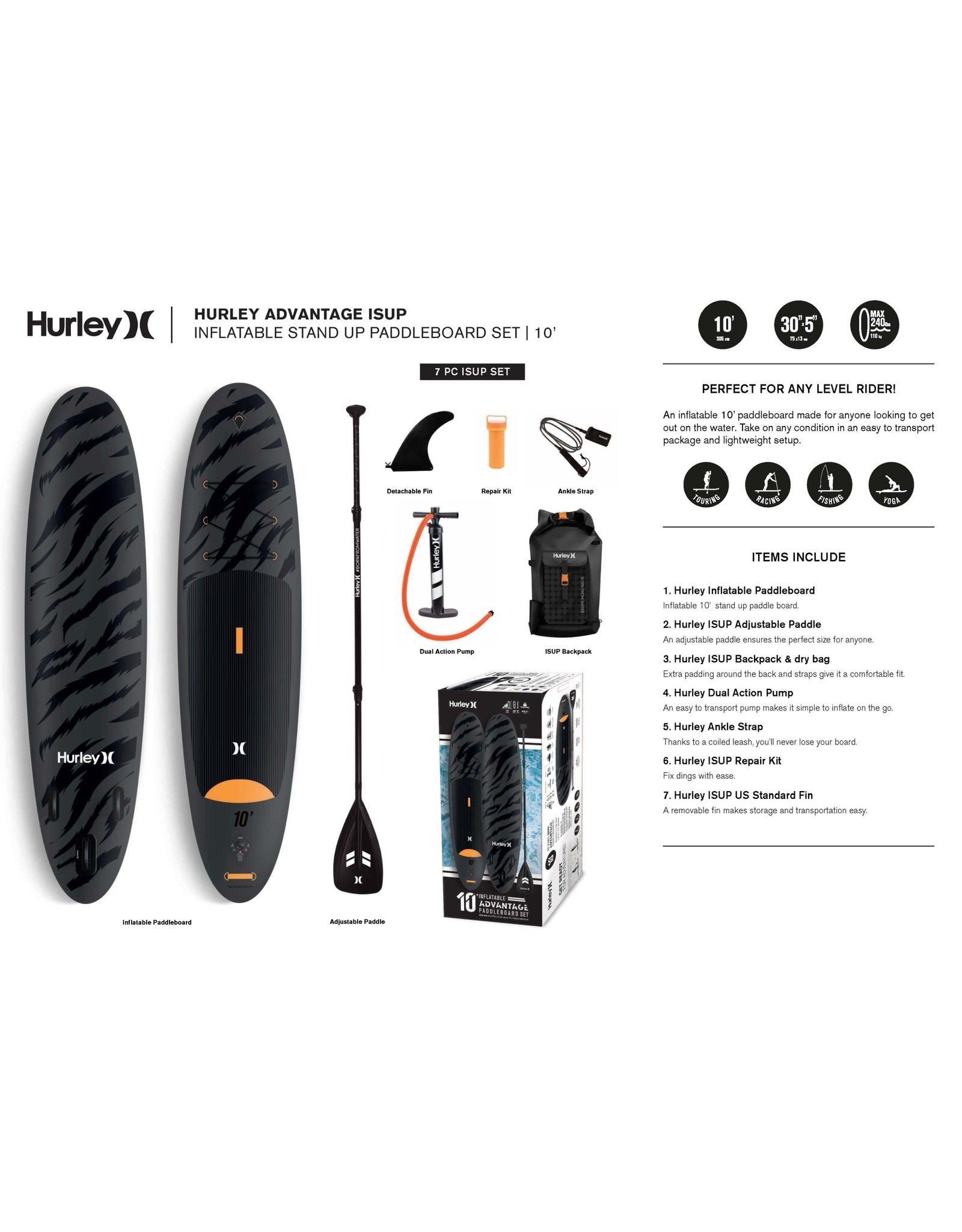 Hurley Hurley - Advantage ISUP 10' - HUR004