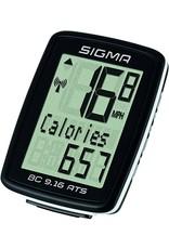 Sigma Sigma - BC 7.16 ATS Bike Computer - Wireless, Black
