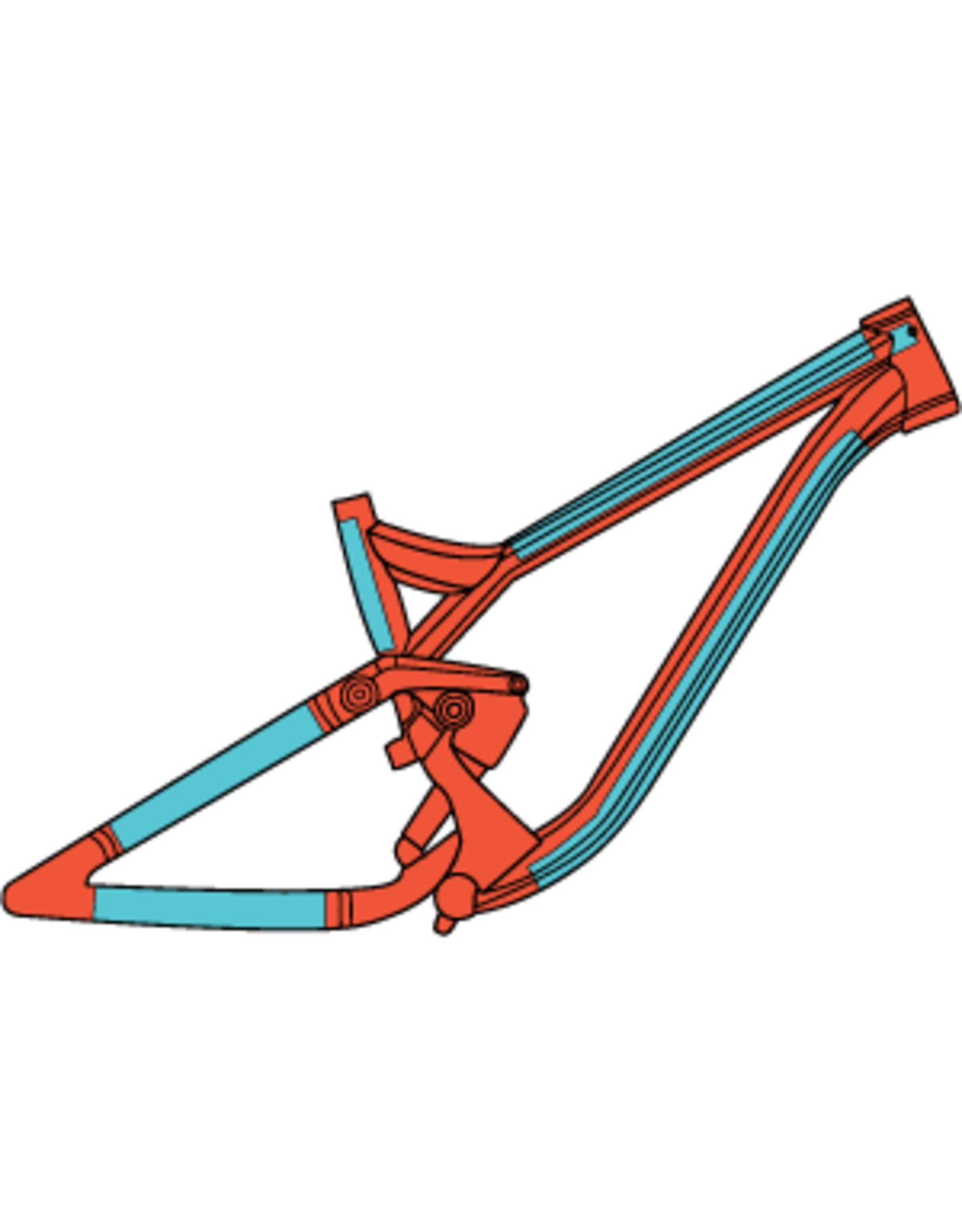 RideWrap RideWrap - Covered MTB, Protective Wrap Kit, Gloss Clear
