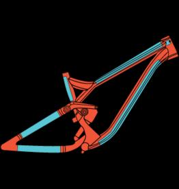RideWrap RideWrap - Covered MTB, Protective Wrap Kit, Matte Clear