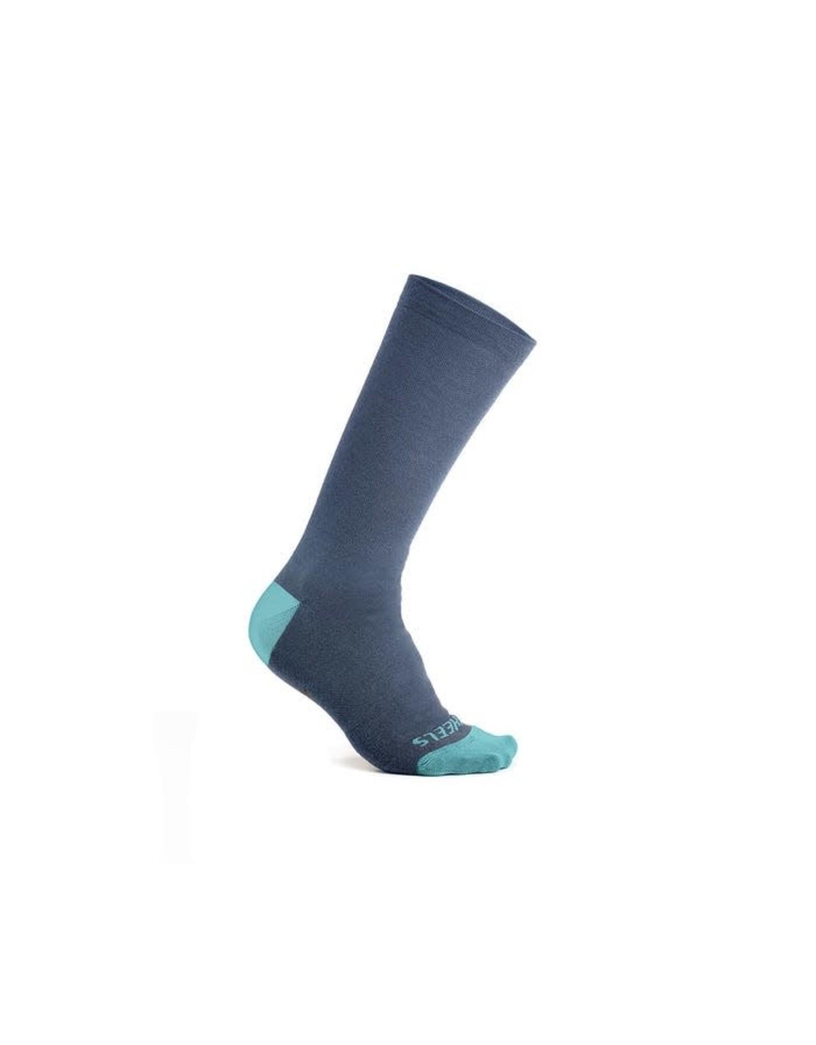 7MESH 7MESH - Ashlu Cadet Blue Merino Sock Lrg