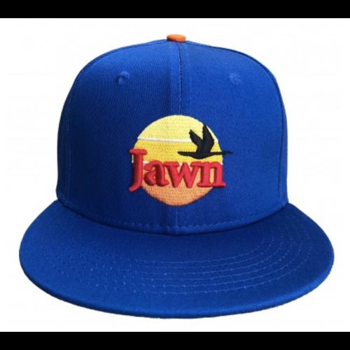 South Fellini Wawa Jawn Blue Snapback Hat