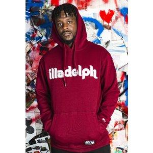Okayplayer Illadelph Maroon Hooded Sweatshirt