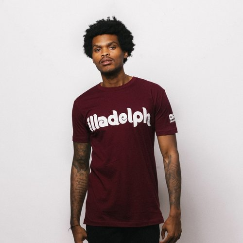 Okayplayer Illadelph Maroon T-Shirt