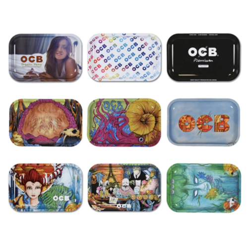 OCB Rolling Tray (Random Design)
