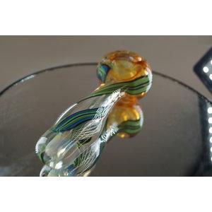 Devin Sagan Glass Devin Sagan Spoon Green Wrap