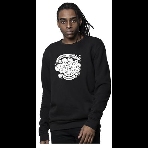 Free Will Collective Free Will Collective Black Crewneck Sweatshirt