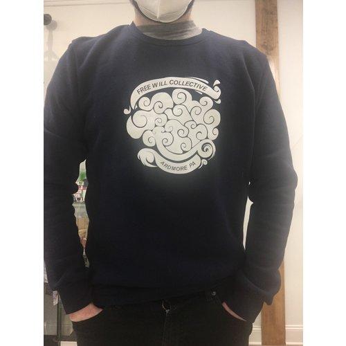 Free Will Collective Free Will Collective Navy Crewneck Sweatshirt
