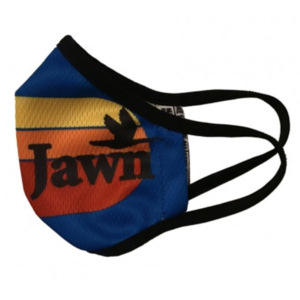 South Fellini Jawn Blue Face Mask