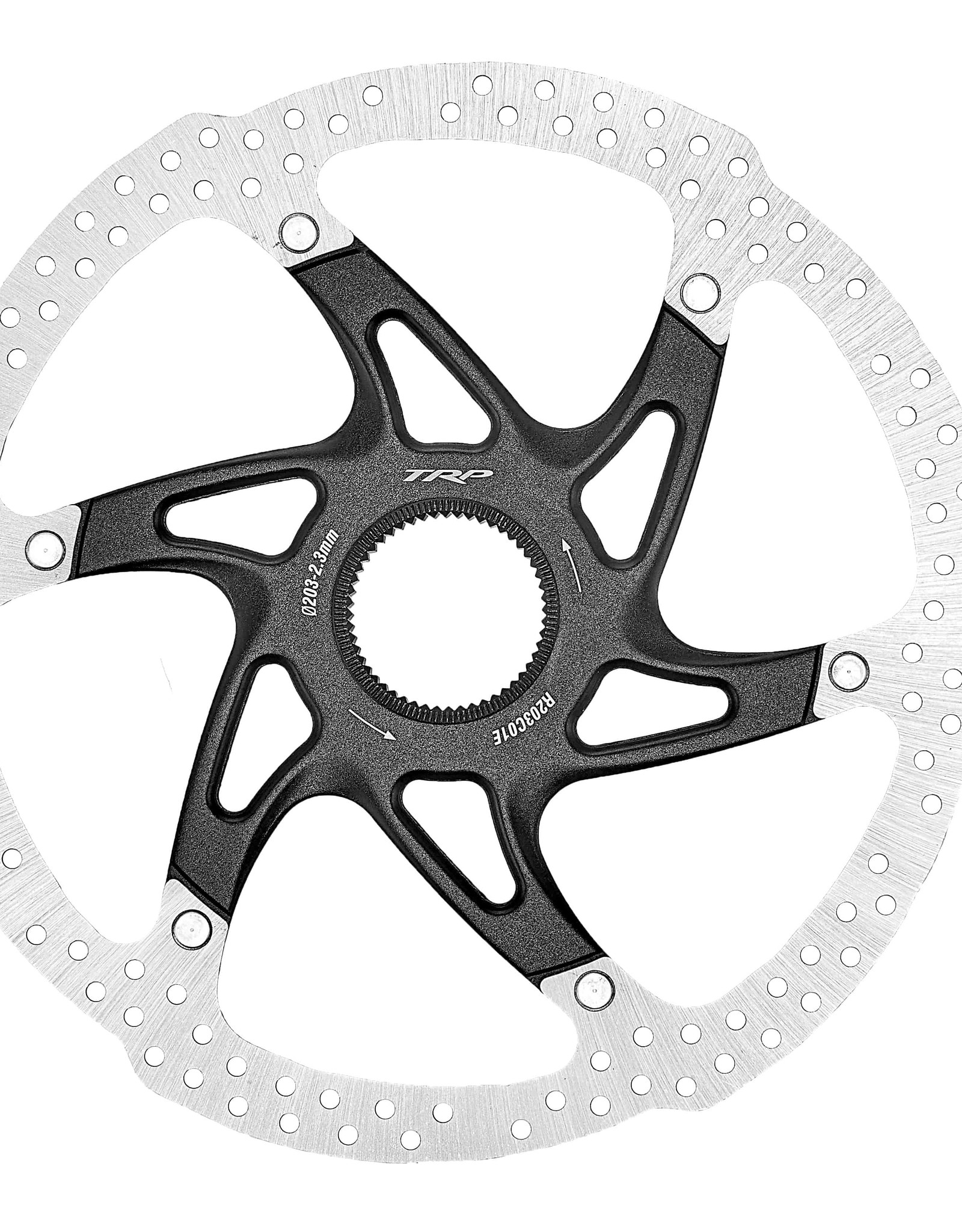 TRP TRP R1, CENTER LOCK 2.3MM ROTOR DUAL COMPOUND