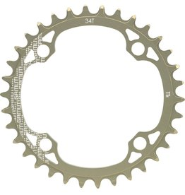 GAMUT Chainring TTr, 4 Bolt,104mm
