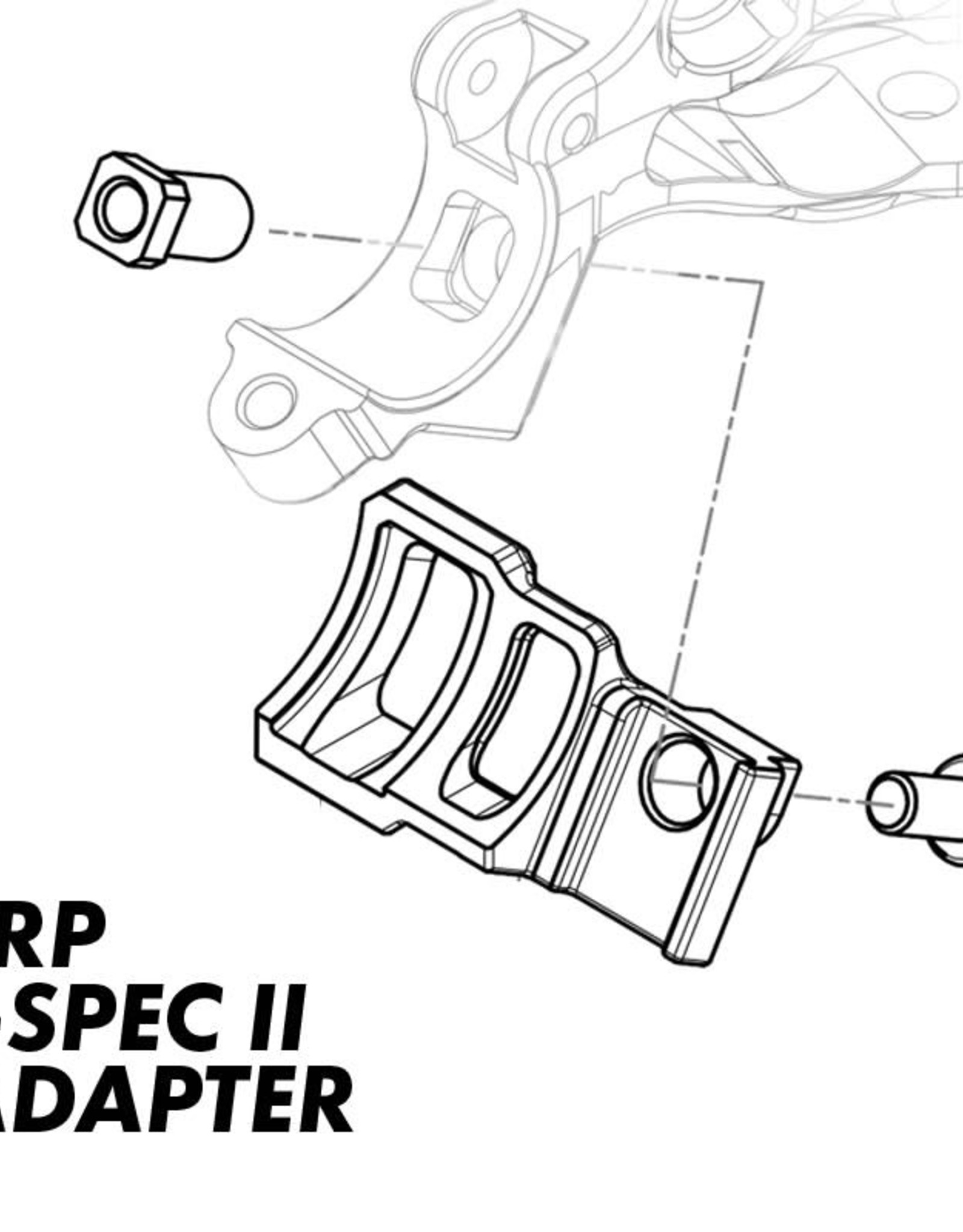 TRP TRP SHIMANO ADAPTER