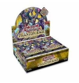 Yugioh Phantom Rage Booster box
