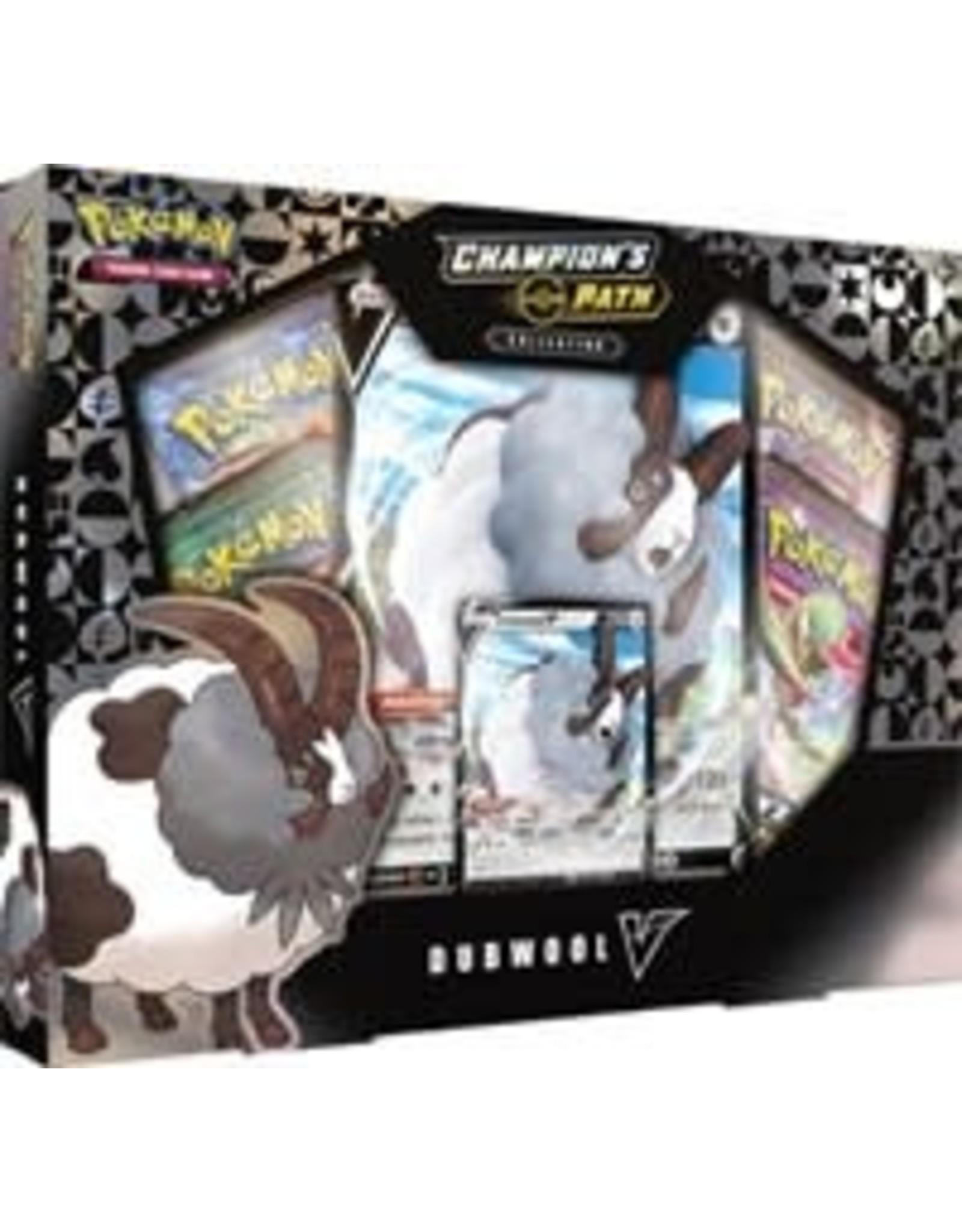 Pokemon Champion's Path Dubwool V Box