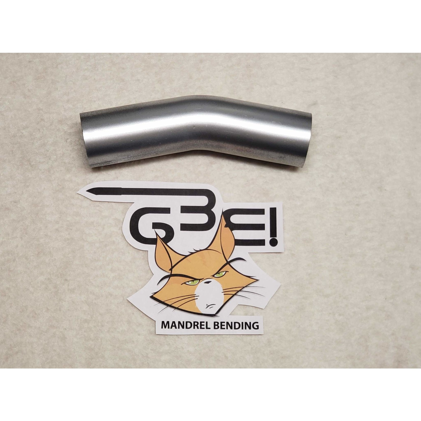 "GBE 2-1/4"" 18 DEGREE ALUMINIZED BEND"