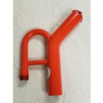 """GBE 4"""" GOLD DREDGE NOZZLE WITH THREADS WITH CLASSIFIER"""