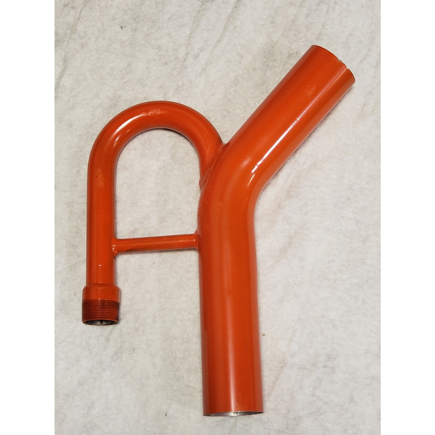 """GBE 2-1/2"""" GOLD DREDGE NOZZLE WITH THREADS WITHOUT CLASSIFIER"""