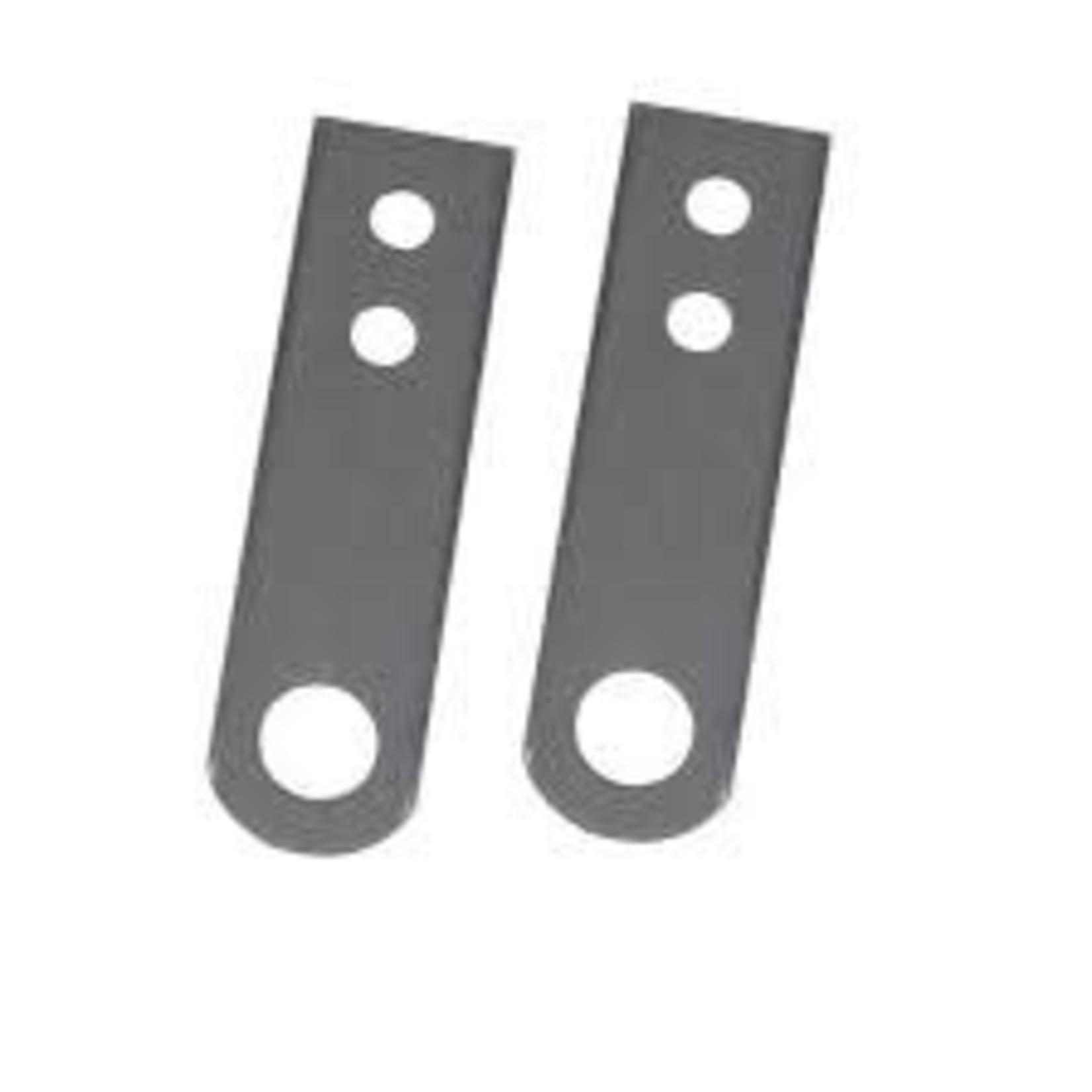 "NICSON 7"" 2-HOLE 3/16""HD STEEL HANGER STRAP"