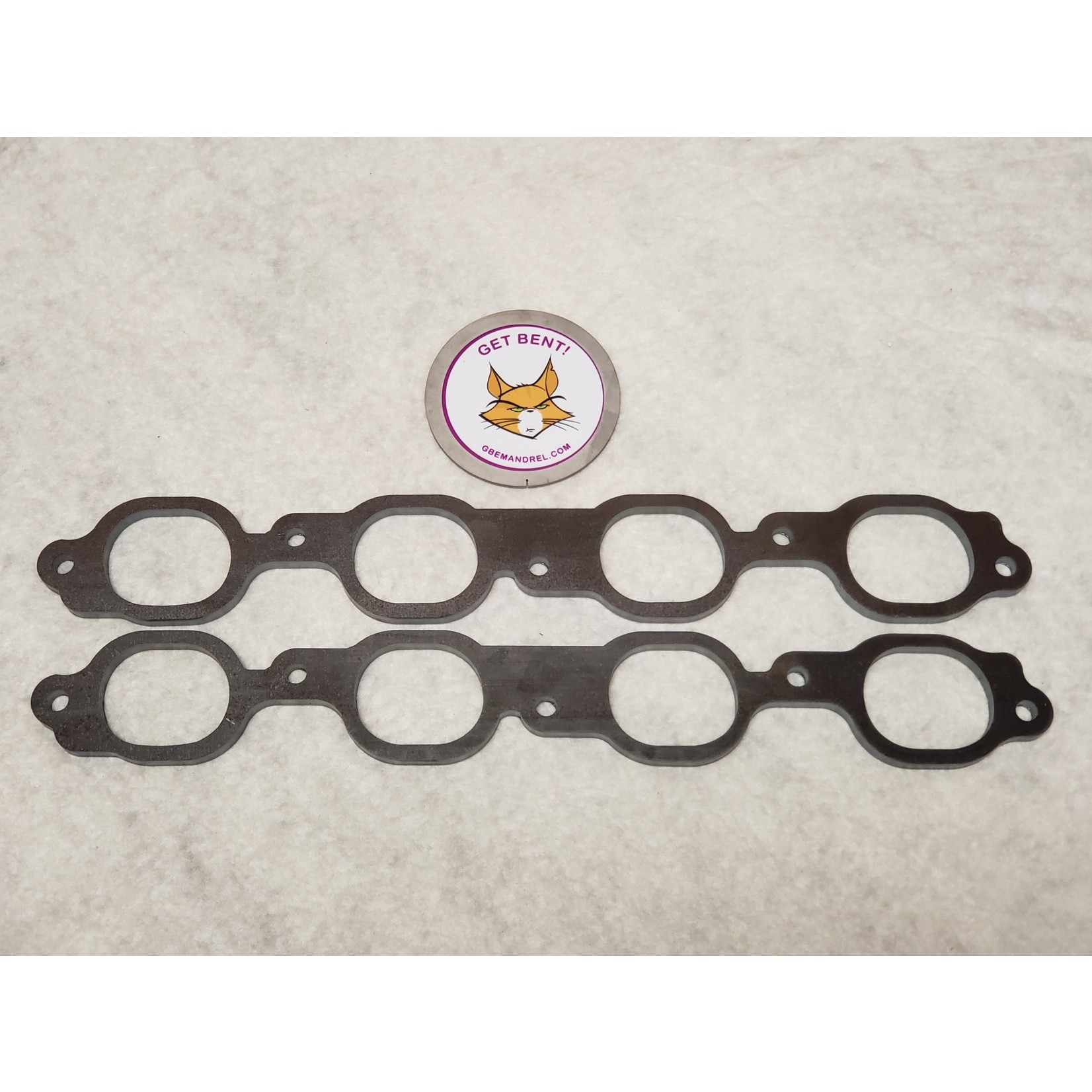 GBE GM CHEVY LM-7  5.3L STEEL HEADER FLANGES