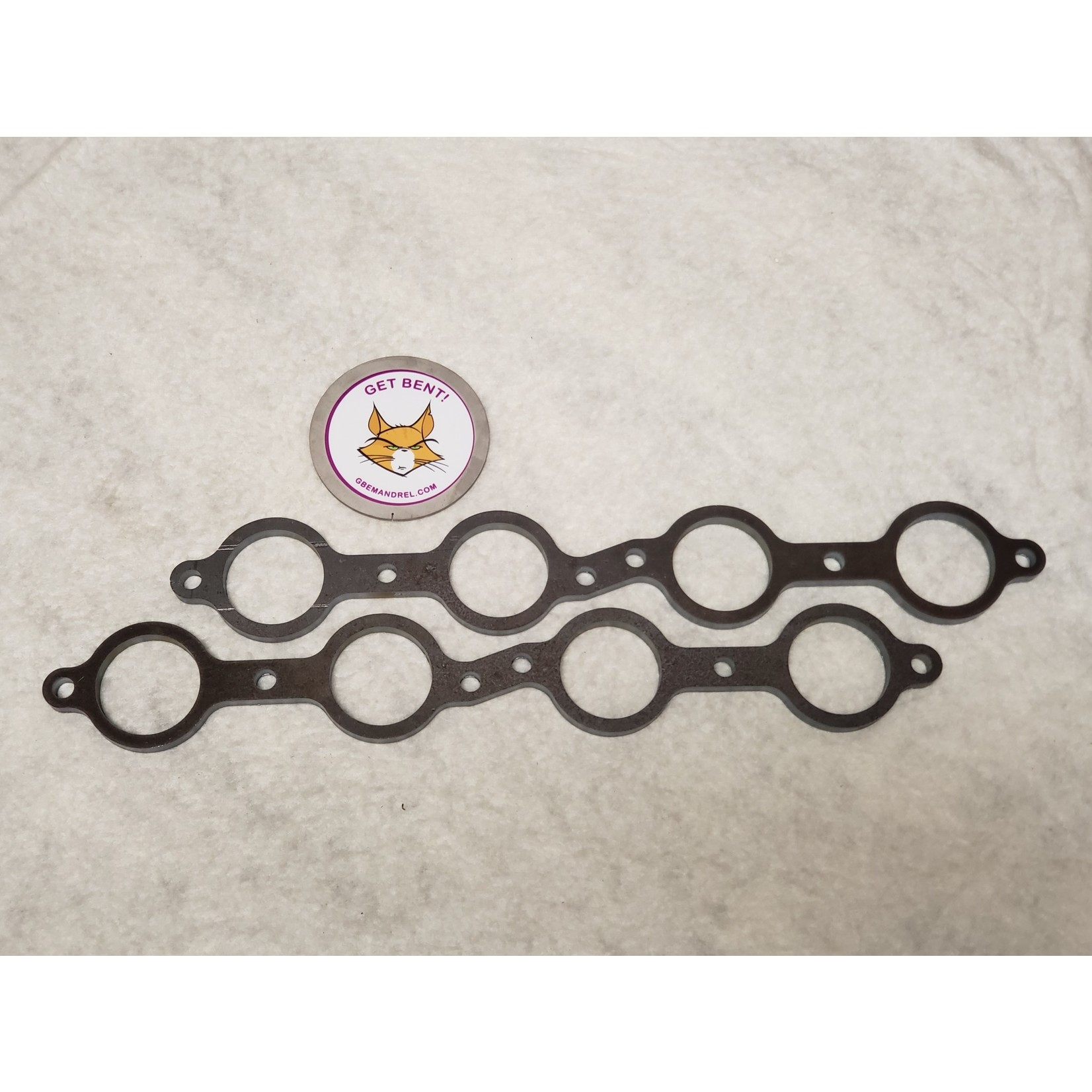 GBE GM CHEVY LS 1-7 STEEL HEADER FLANGES