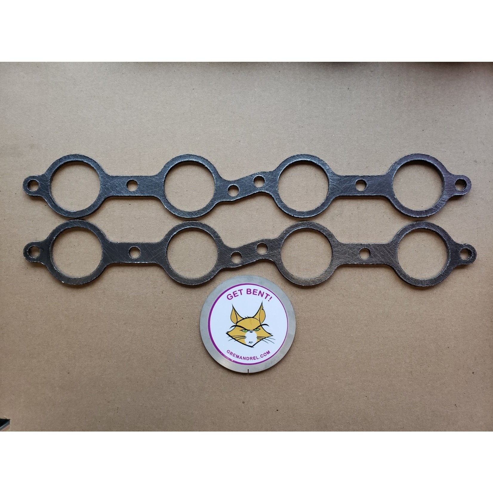 GBE GM CHEVY LS 1-7 GRAPHITE HEADER GASKETS
