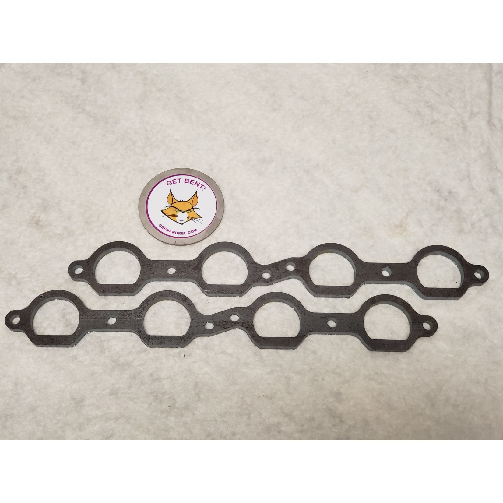 GBE GM CHEVY LS-8 STEEL HEADER FLANGES
