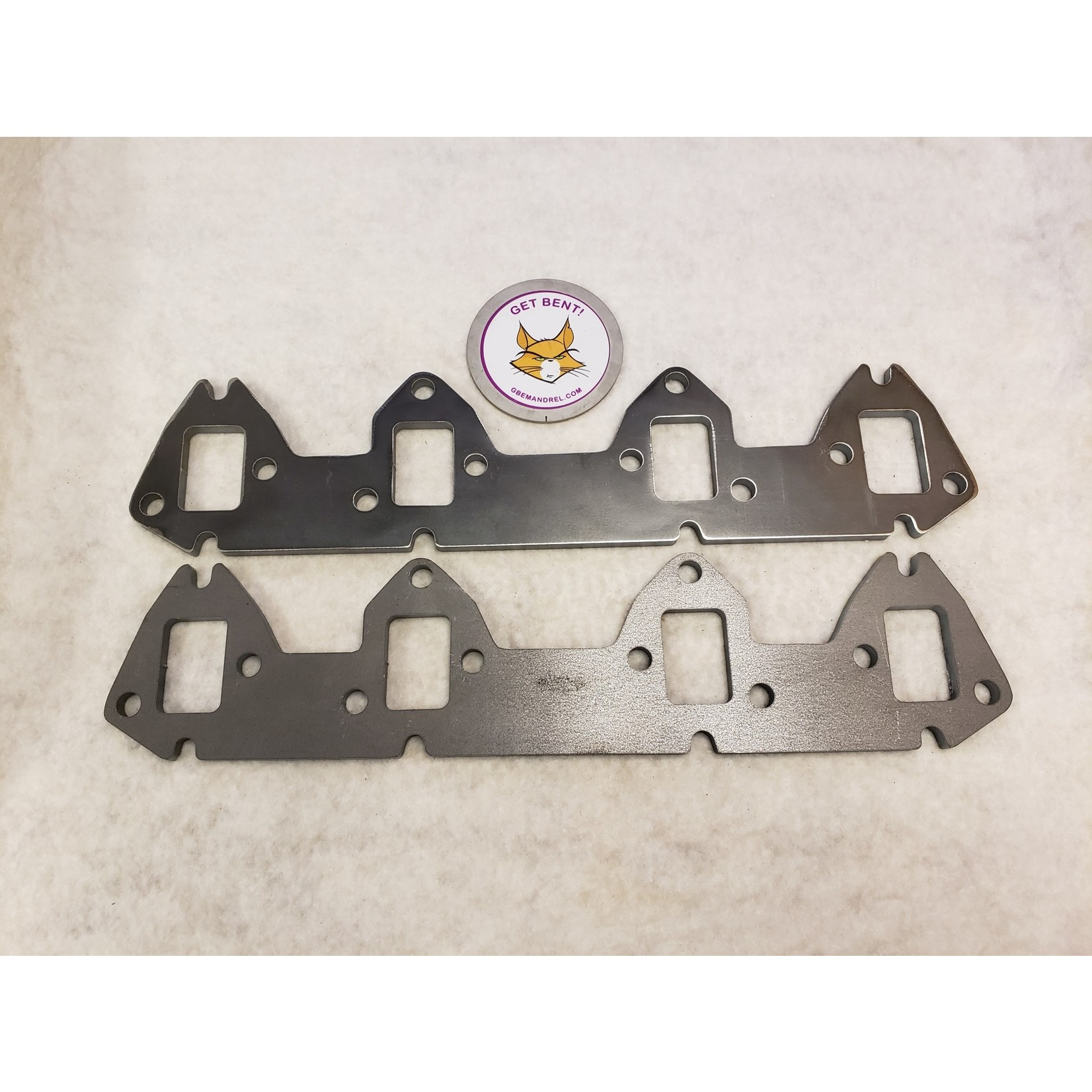 GBE FORD 332-390 FE DUAL BOLT PATTERN STEEL HEADER FLANGES
