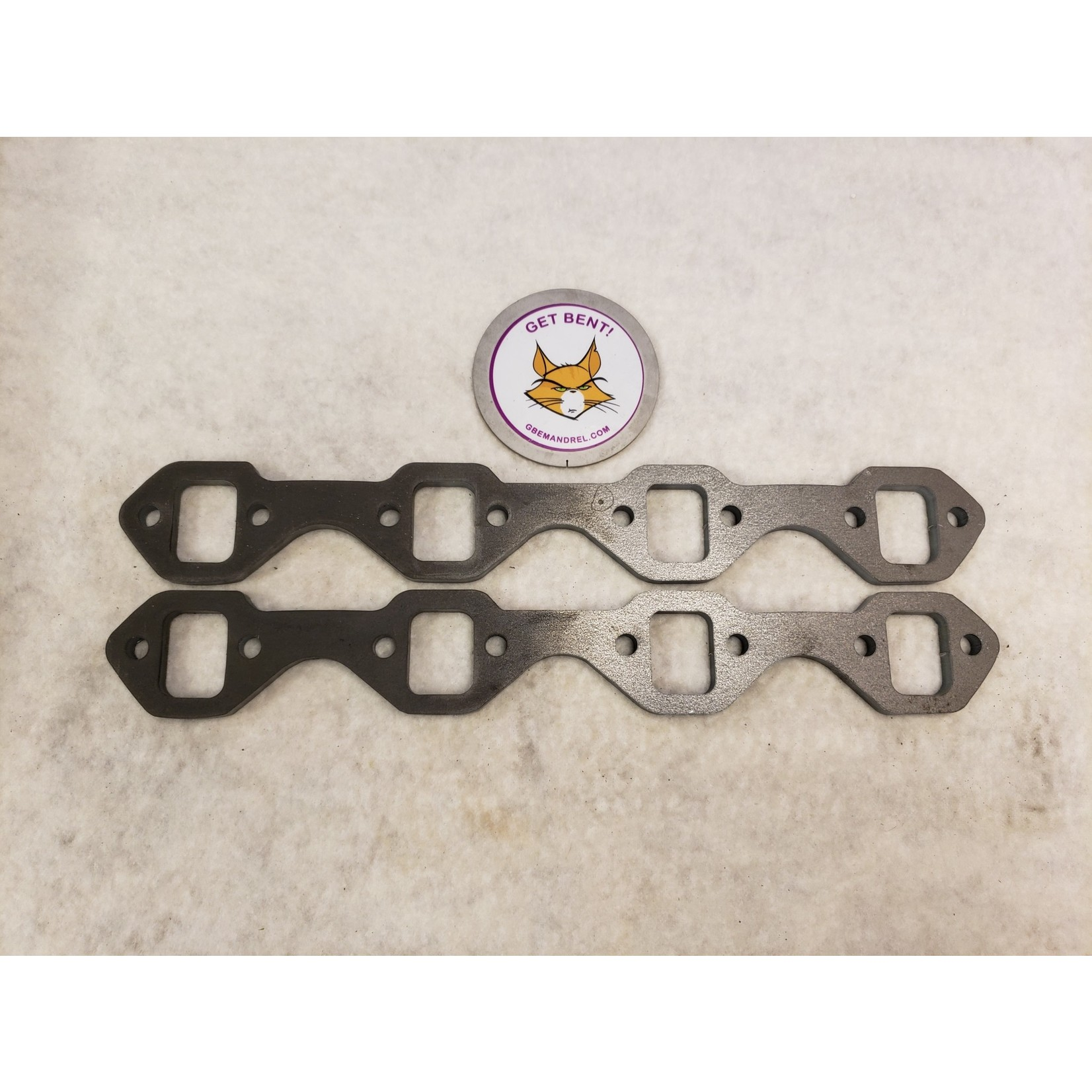 FORD 289-302 STEEL HEADER FLANGES