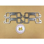 GBE GM BUICK NAILHEAD 364-425 GRAPHITE HEADER GASKETS