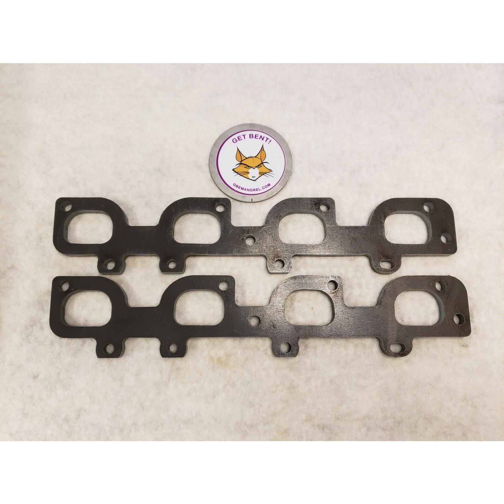 GBE MOPAR 6.1L, 6.2L, 6.4L STEEL HEADER FLANGES