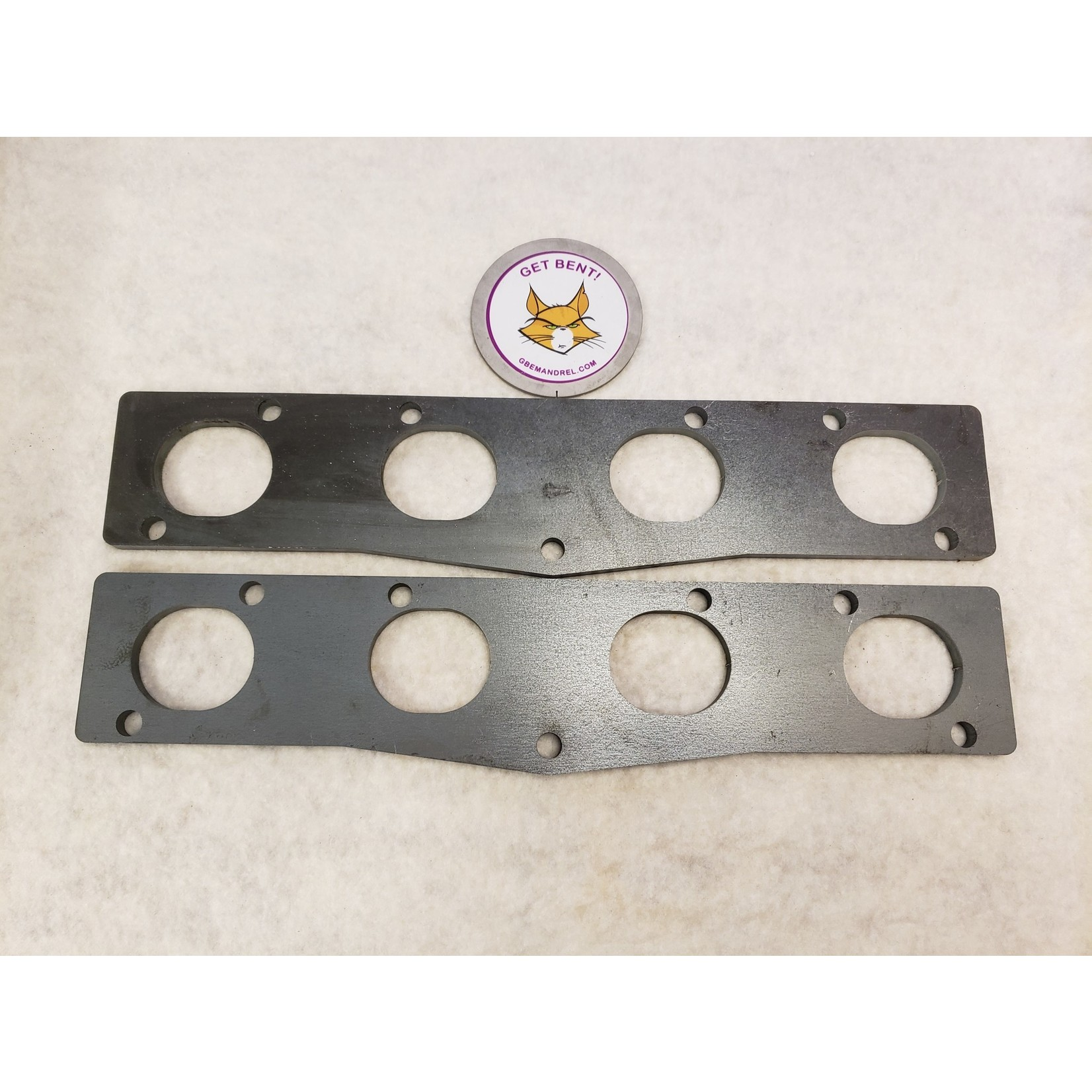 GBE MOPAR EARLY HEMI 331-392 STEEL HEADER FLANGES