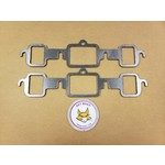 GBE OLDSMOBILE 350-455 GRAPHITE HEADER GASKETS