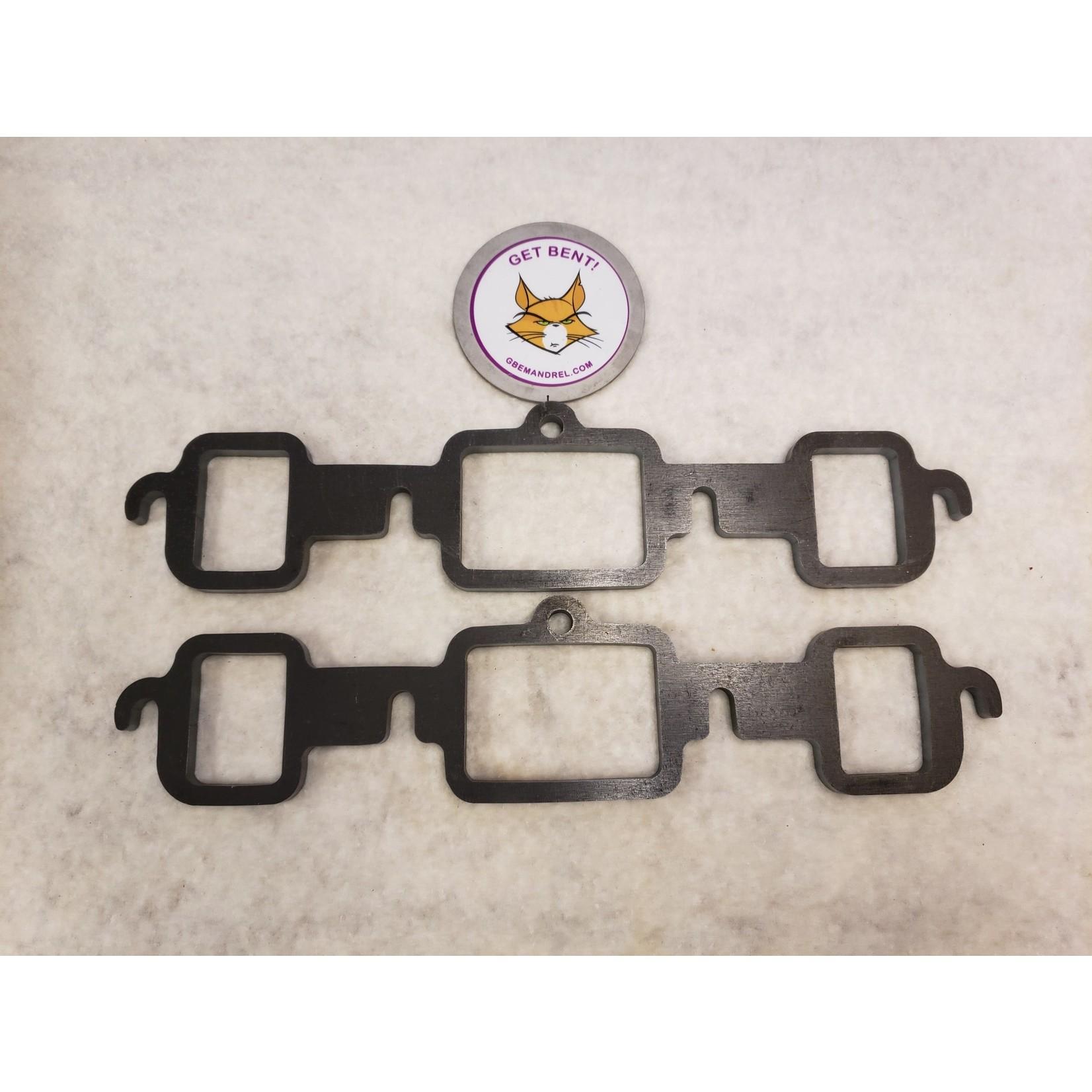 GBE OLDSMOBILE 350-455 STEEL HEADER FLANGES