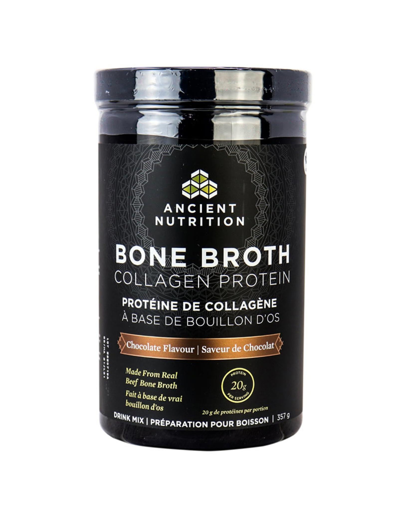 Ancient Nutrition Ancient Nutrition - Bone Broth Collagen Protein, Chocolate (357g)