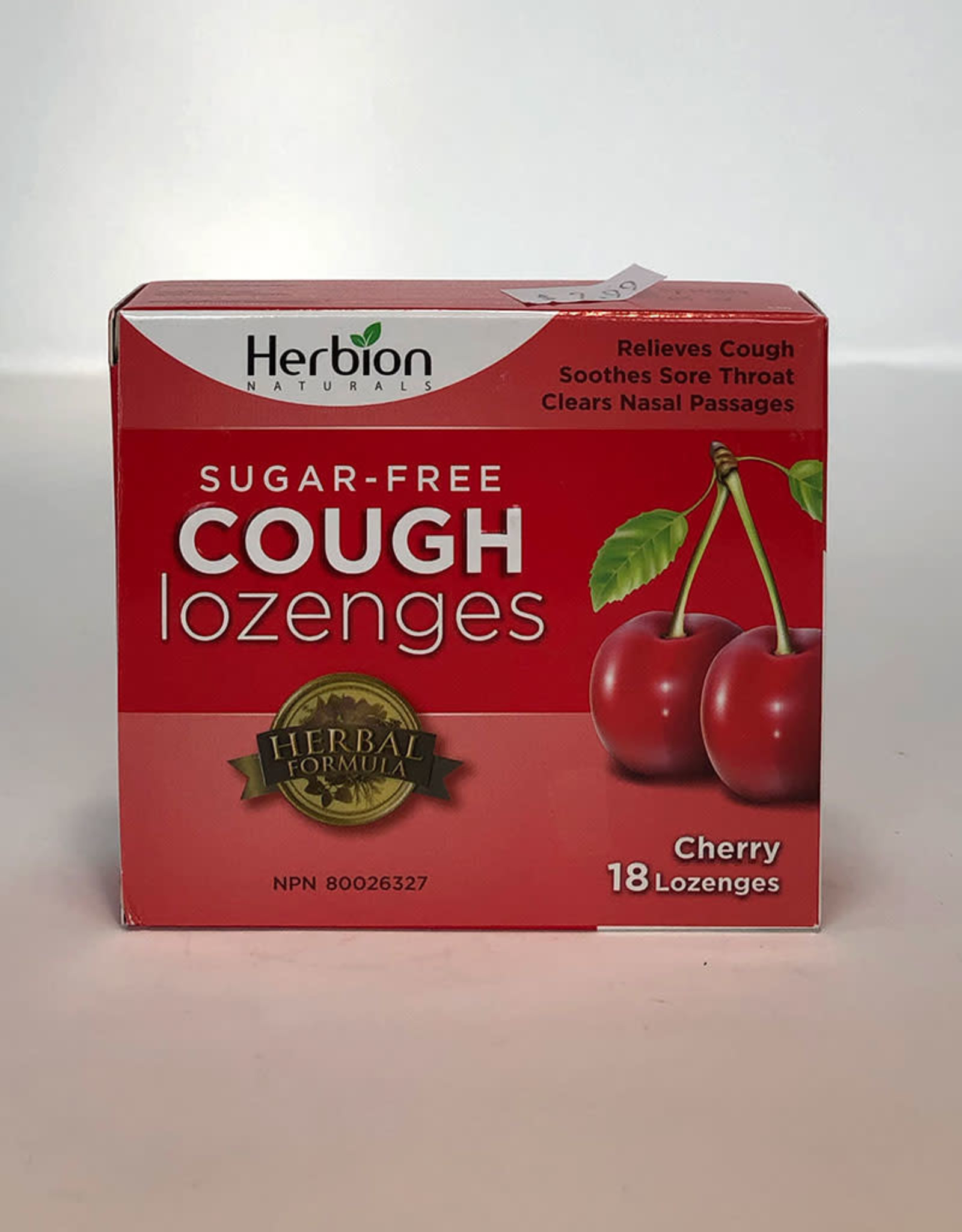 Herbion Herbion - Sugar Free Cough Lozenges, Cherry